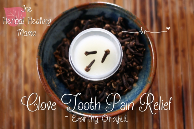 Clove Tooth Pain Relief ~ Earthy Orajel.