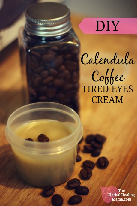 Calendula Coffee Cream for Tired Eyes