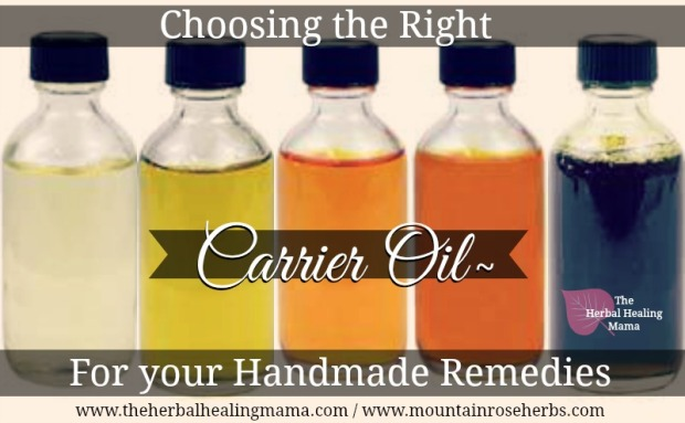 Choosing the right Carrier Oil