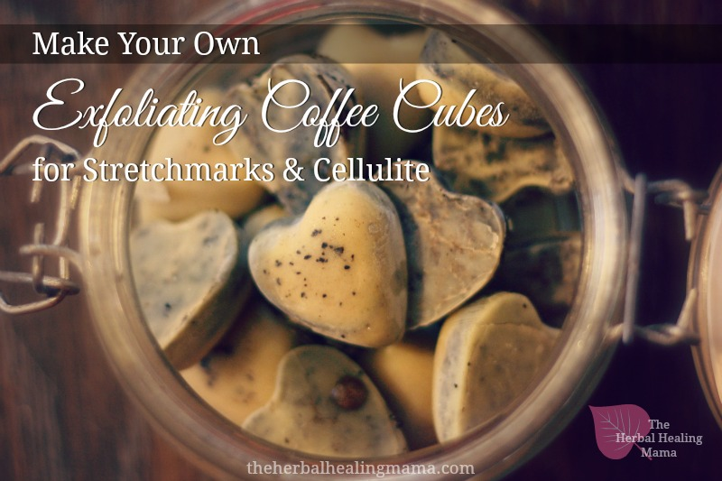 Coffee Cubes for Stretchmarks & Cellulite