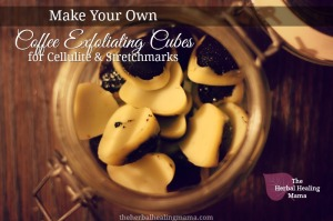 Coffee Exfoliating Cubes for Cellulite & Stretchmarks