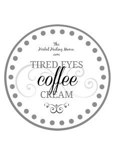 HHM TIRED EYES LABEL