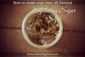 How to make your own all natural sugar scrub