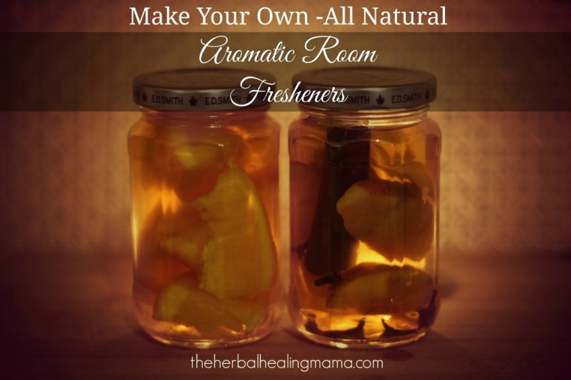 DIY all natural room freshener / deoderizer.