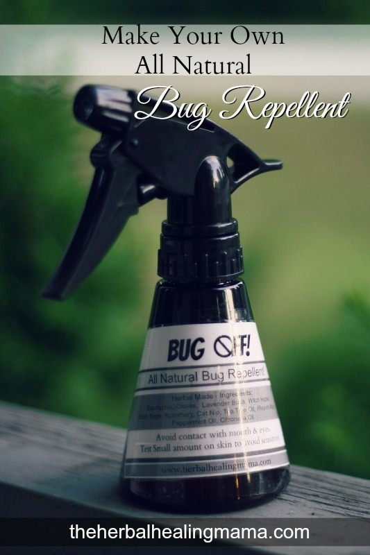 DIY bug spray. All natural.