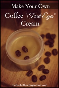 How to make your own all natural eye cream
