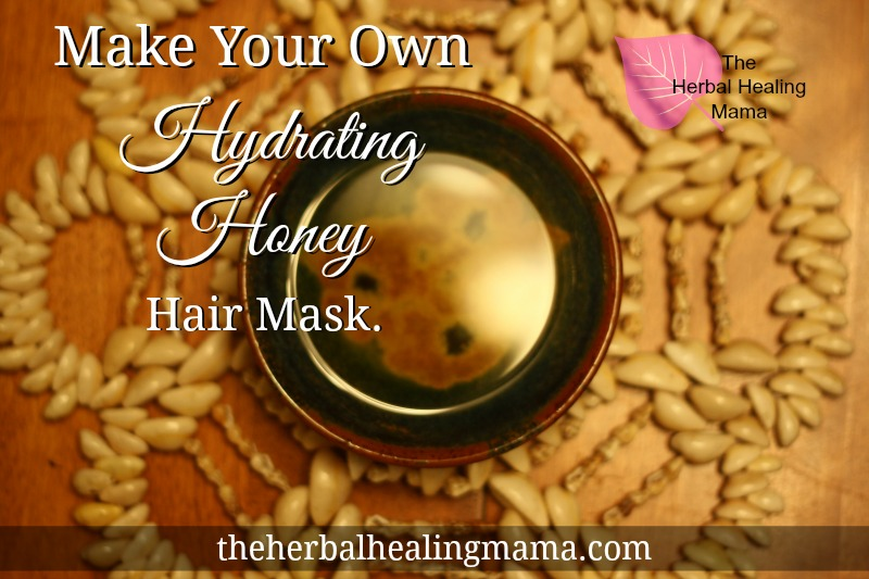 Make Your Own Hydrating Honey Hair Mask!