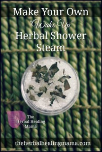 Make Your Own Herbal Shower Steam.