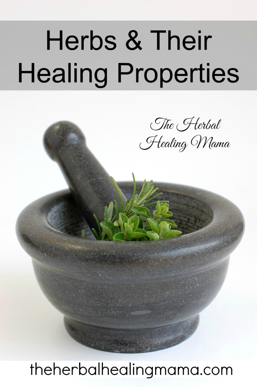 Herbs & Their Healing Properties