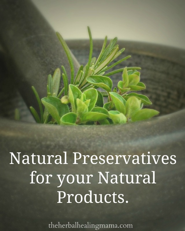 Natural Preservatives for your all natural skin care products
