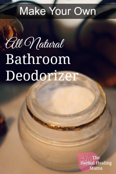 All Natural Bathroom Deodorizer