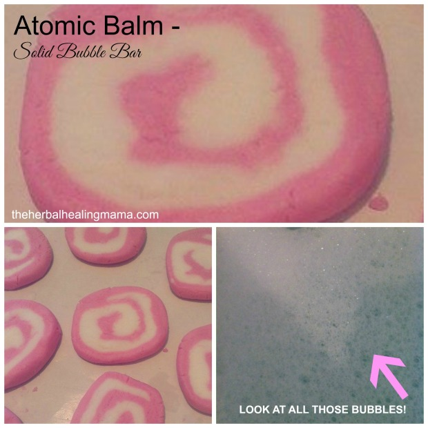 Atomic Balm Bubble Bar