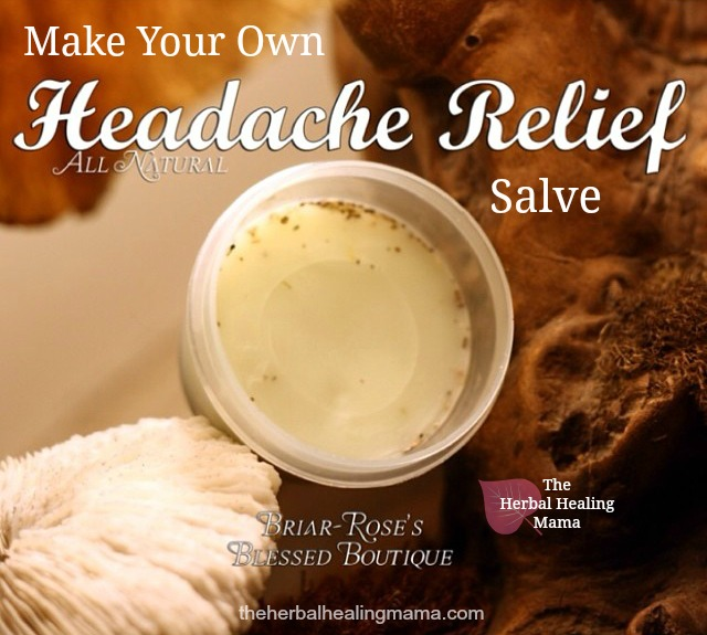 Headache Relief Salve~ DIY All Natural Remedy.
