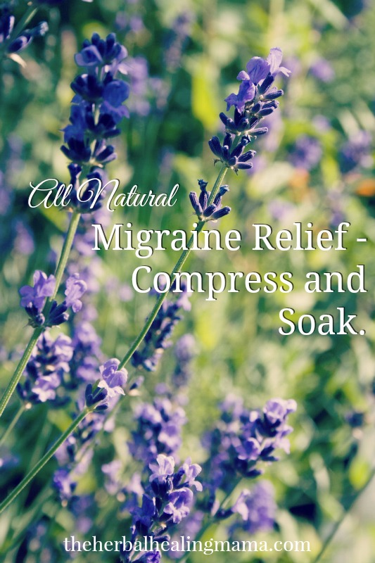 Migraine Relief Compress and Soak