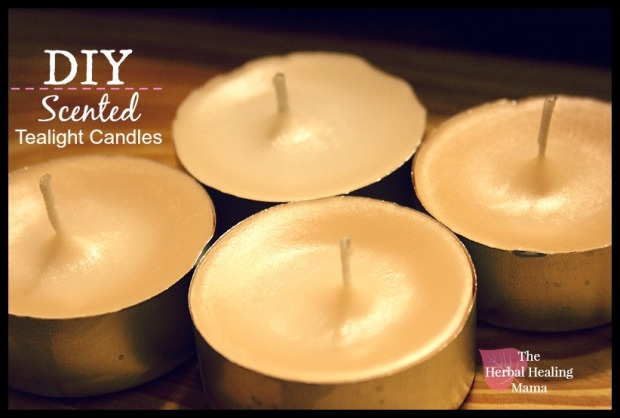 DIY Scented Tealight Candles