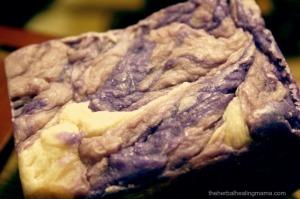 Lilac Soap Texture