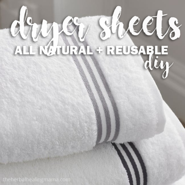 Dryer Sheets - DIY - All Natural & Reusable
