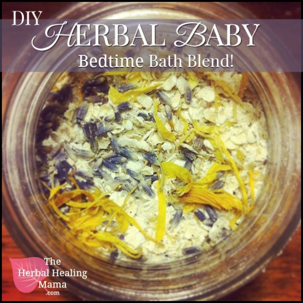 Herbal Baby Bedtime Bath Blend 1