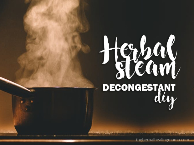 Herbal Steam - Decongestant - DIY