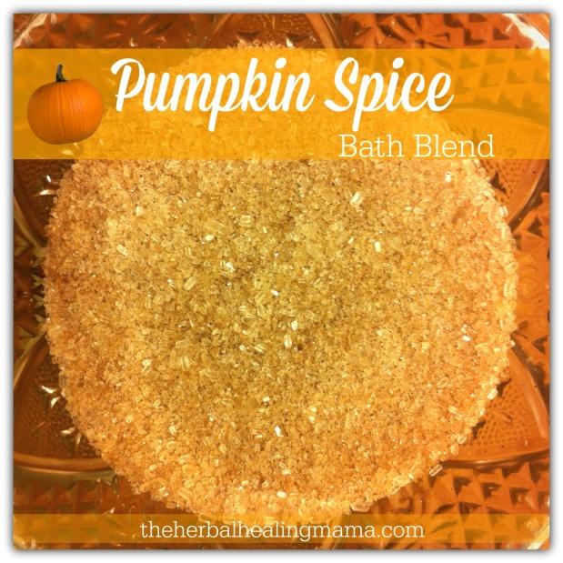 Pumpkin Spice Bath Blend