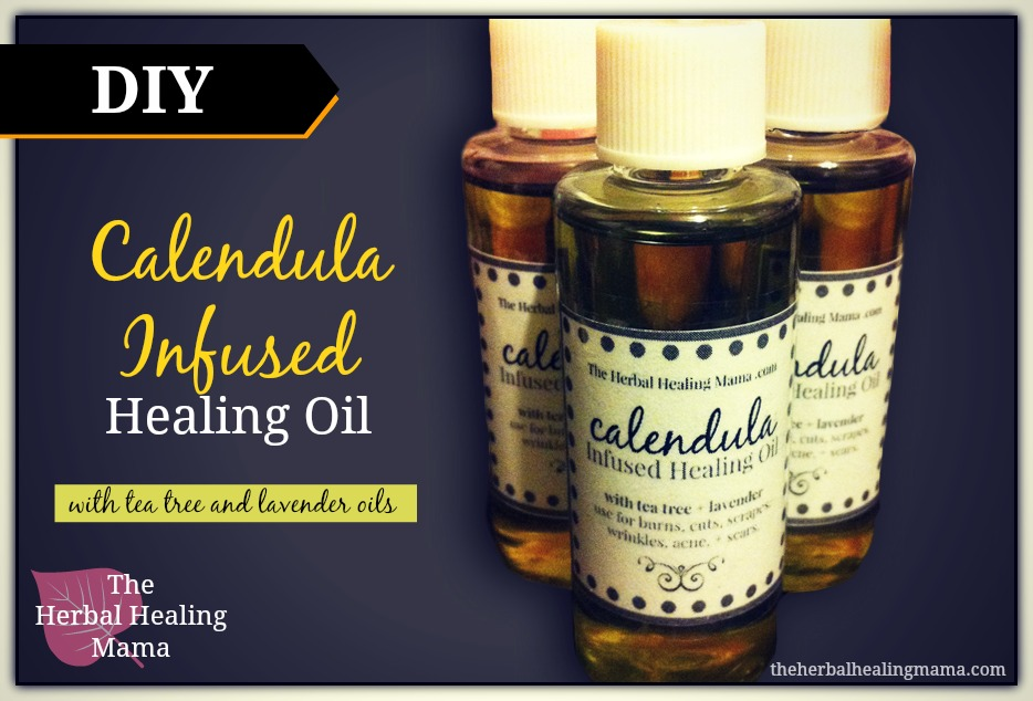 Calendula Tea Tree Amp Lavender Healing Oil Diy The