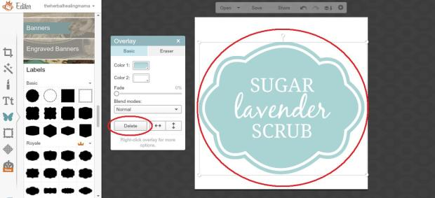 Create Labels on Picmonkey 6
