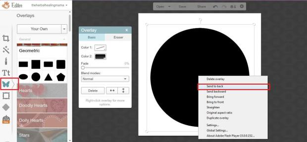 Create Labels on Picmonkey 7