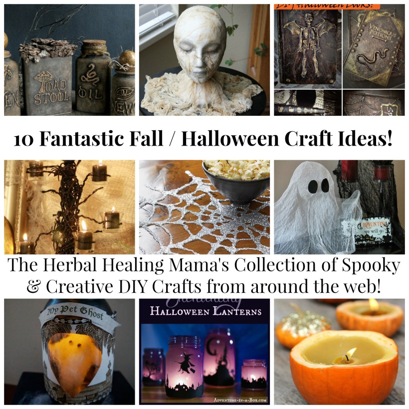 DIY Fall and Halloween Crafts