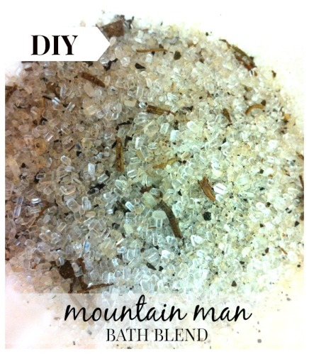 DIY Mountain Man Bath Salts