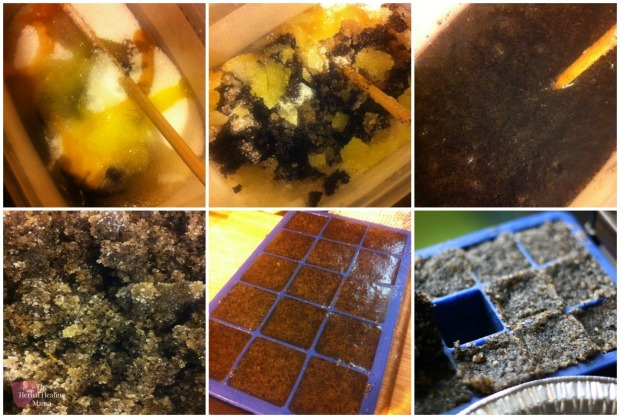 How to make your own exfoliating bars