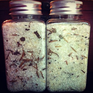 Make your own bath salts for men