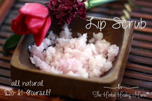 Lip Scrub - DIY All Natural