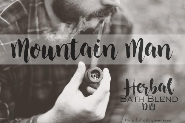 Mountain Man Herbal Bath Blend DIY