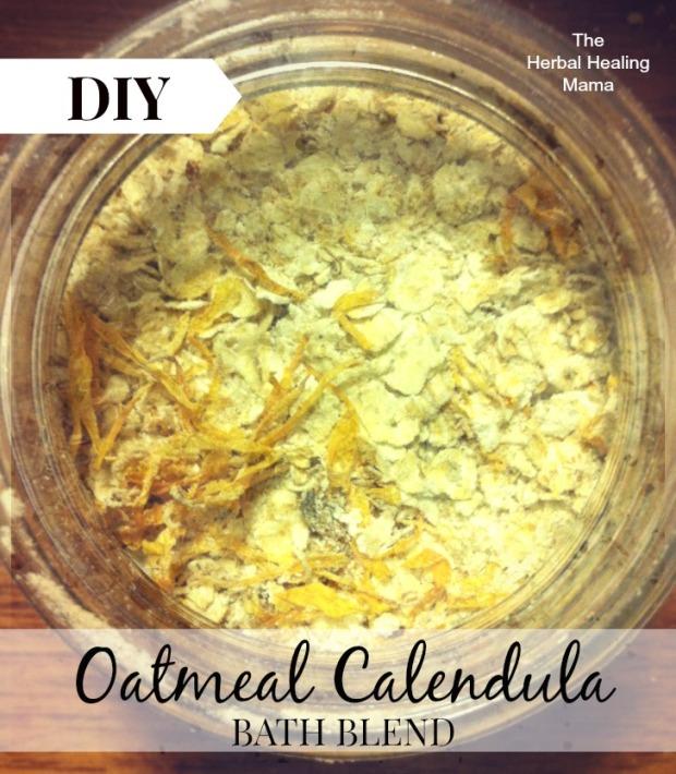 oatmeal calendula bath blend