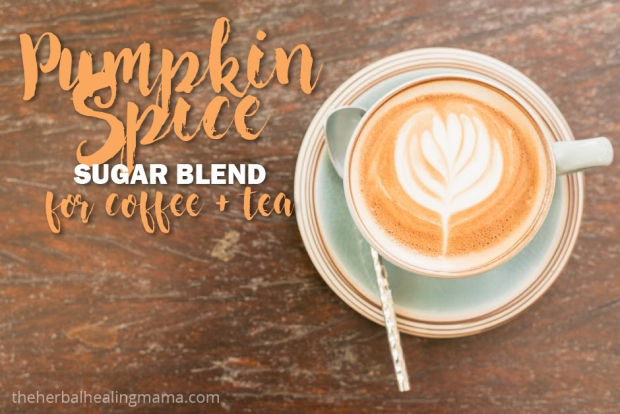 Pumpkin Spice Sugar Blend DIY for Coffee and Tea