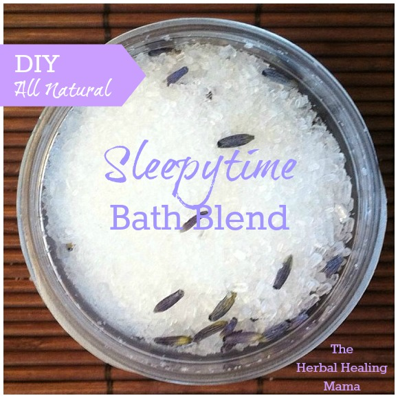 Sleepytime Bath Blend DIY