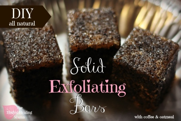 Solid Exfoliating Bars - DIY all natural