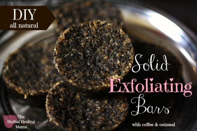Solid Exfoliating Bars - DIY