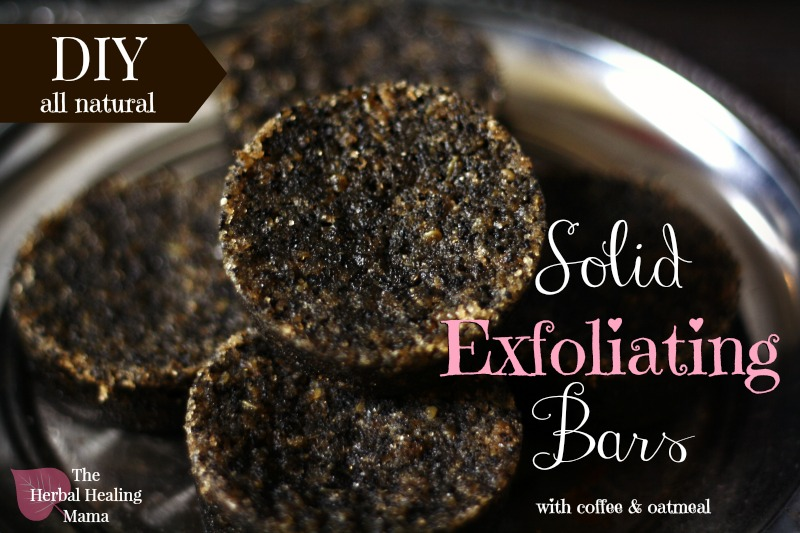Make your own exfoliating bar