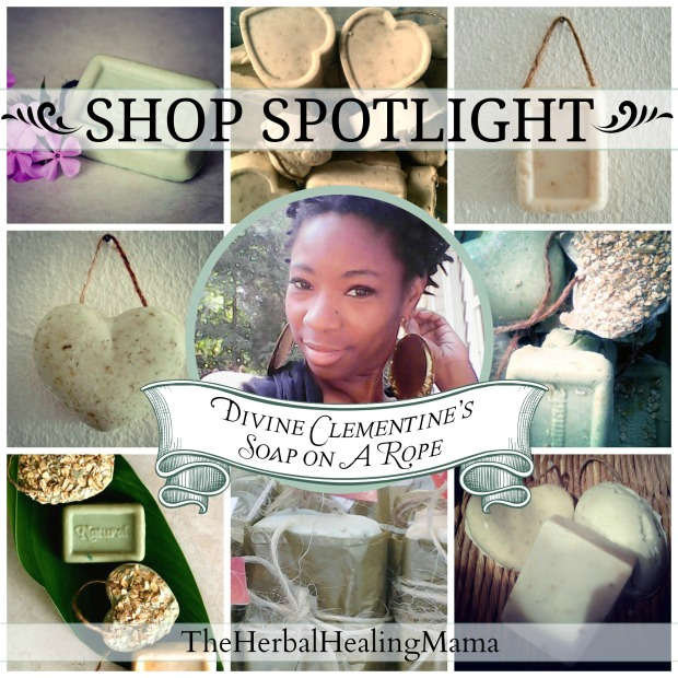 Divine Clementine's Soap on A Rope ~ Shop Spotlight & Giveaway!