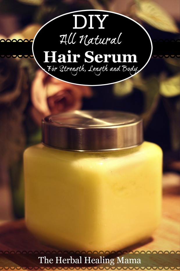 DIY - All Natural - Hair Serum -