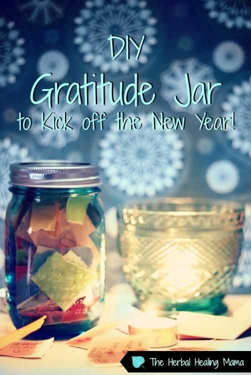 DIY Gratitude Jar to Kick off the New Year!