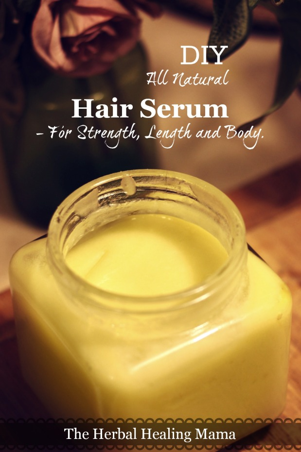 DIY Hair Treatment - Strength Length & Body