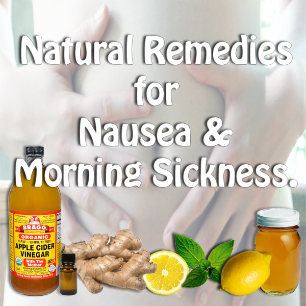Natural Nausea Remedies