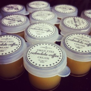 "Coffee - Calendula ""Tired Eyes"" Cream"