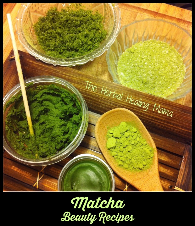 Matcha Beauty Recipes -