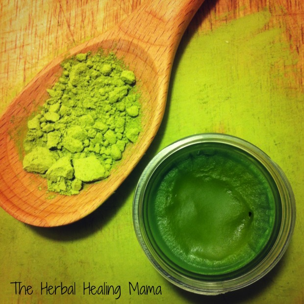 matcha spot treatment