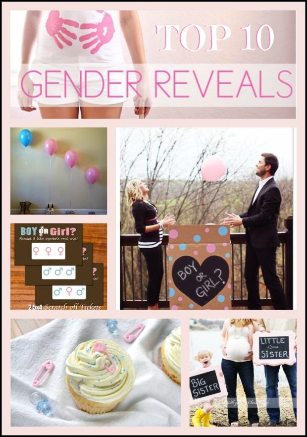 Top 10 Gender Reveals