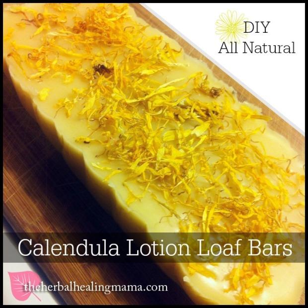 Calendula Lotion Bars - DIY