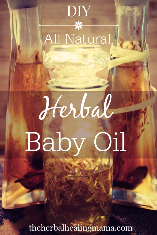 Herbal Baby Oil DIY